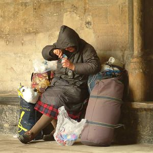 a homelessness
