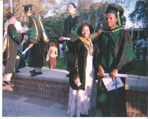 Graduation from Charles Drew School of Medicine in 1998